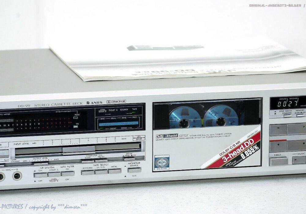 JVC DD-99 High-End 3-Head 卡座