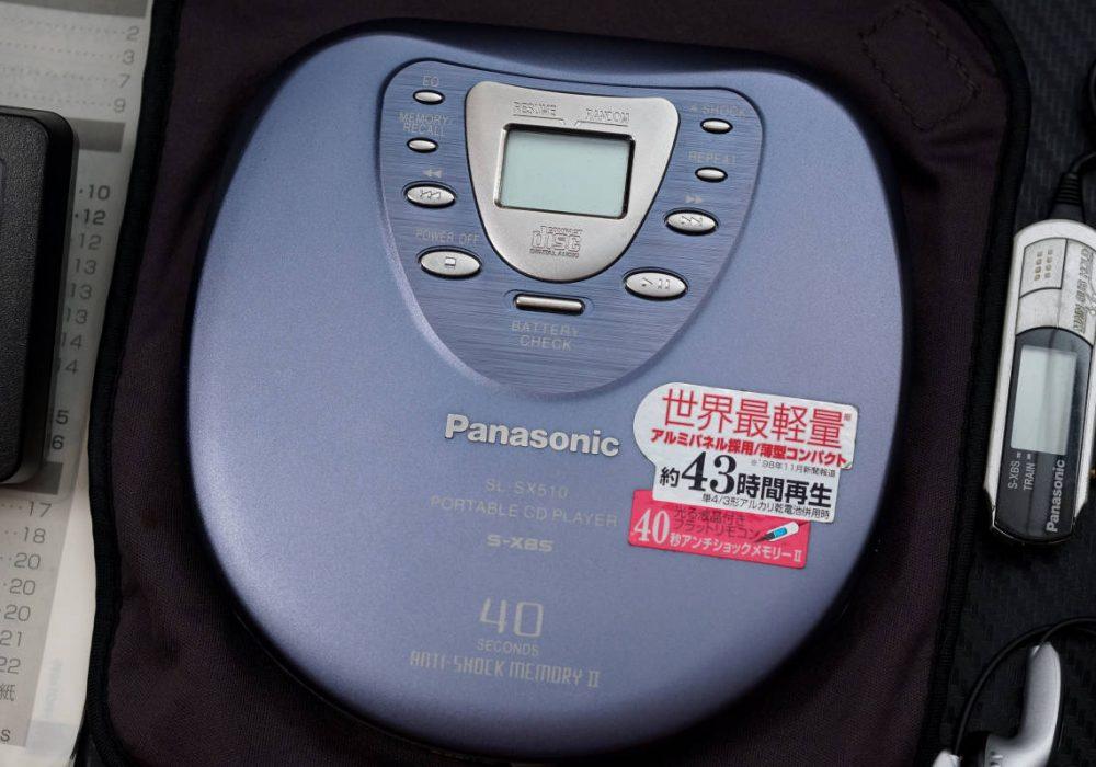 Panasonic SL-SX510 CD随身听
