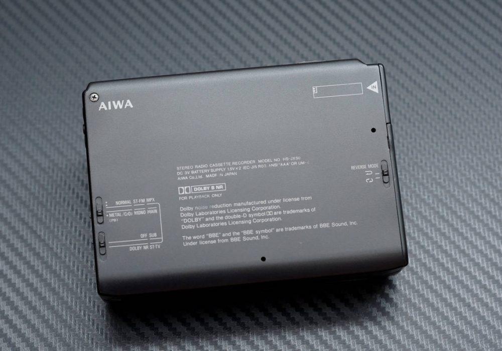 AIWA HS-JX50 磁带随身听