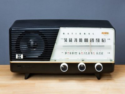 National 325 AM/SW 2BAND 收音机