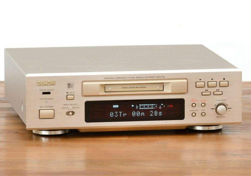天龙 DENON DMD-F100 MD 播放机 台机