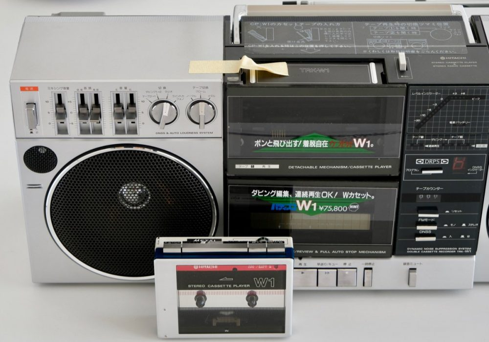日立 HITACHI TRK-W1 收录机