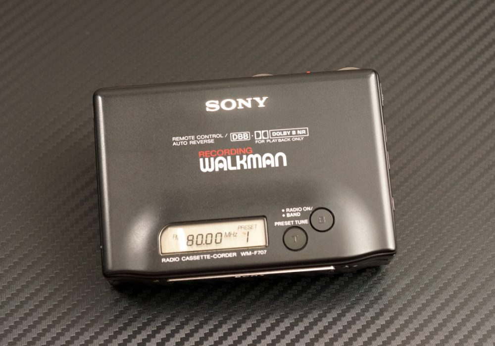 SONY WM-F707 WALKMAN 磁带随身听