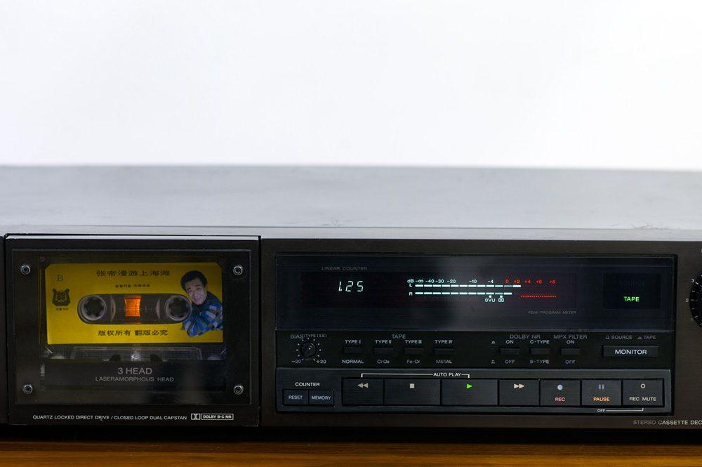 SONY TC-K555ESII 卡座