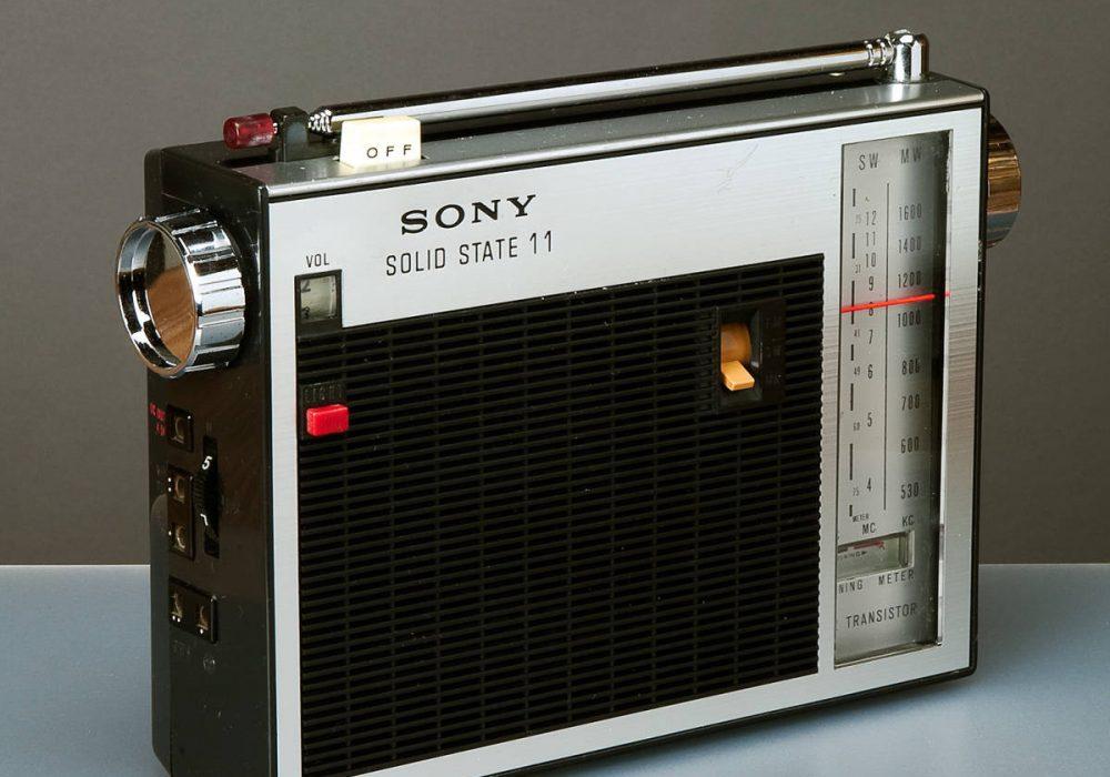 SONY TMF-110F FM/SW/MM 12 TRANSISTOR 收音机