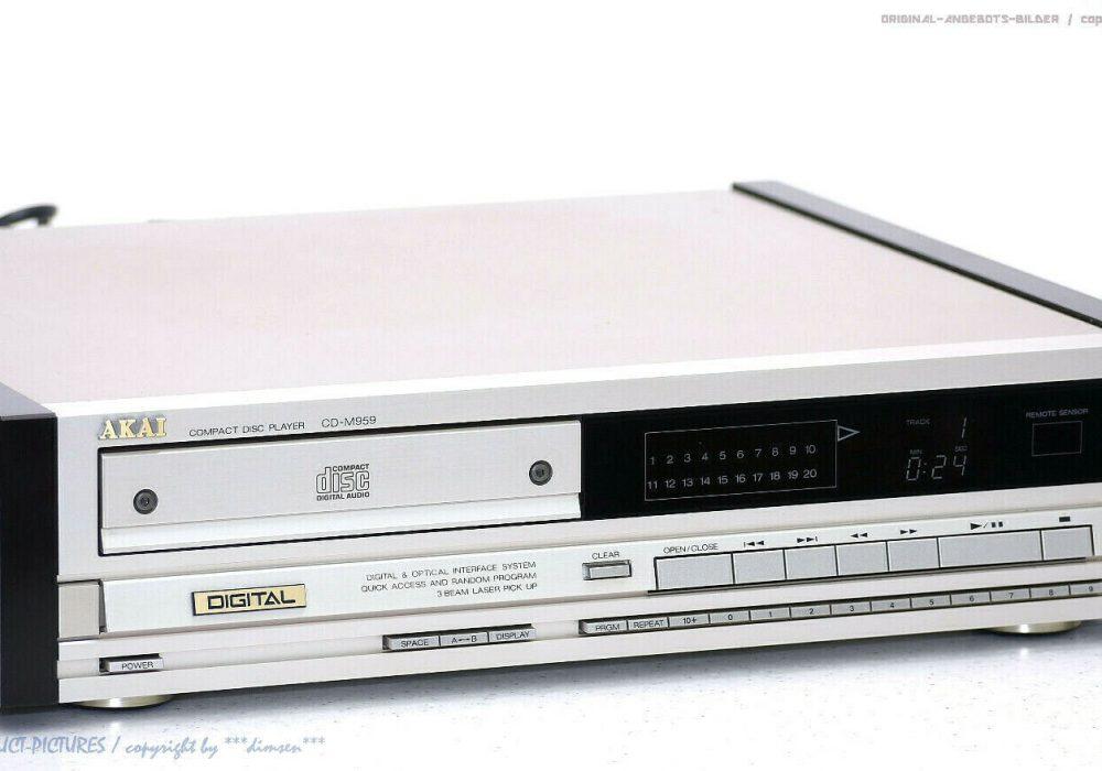 AKAI CD-M959 CD-Player CD播放机