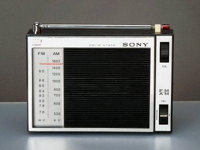 SONY 5F-90 FM/AM 便携式收音机