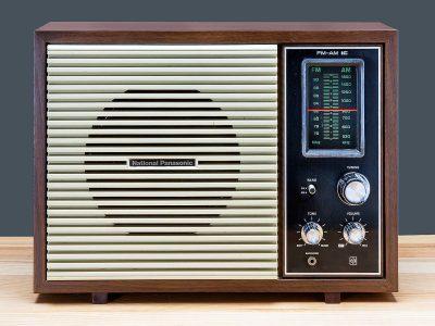National Panasonic RE-780 FM/AM 收音机