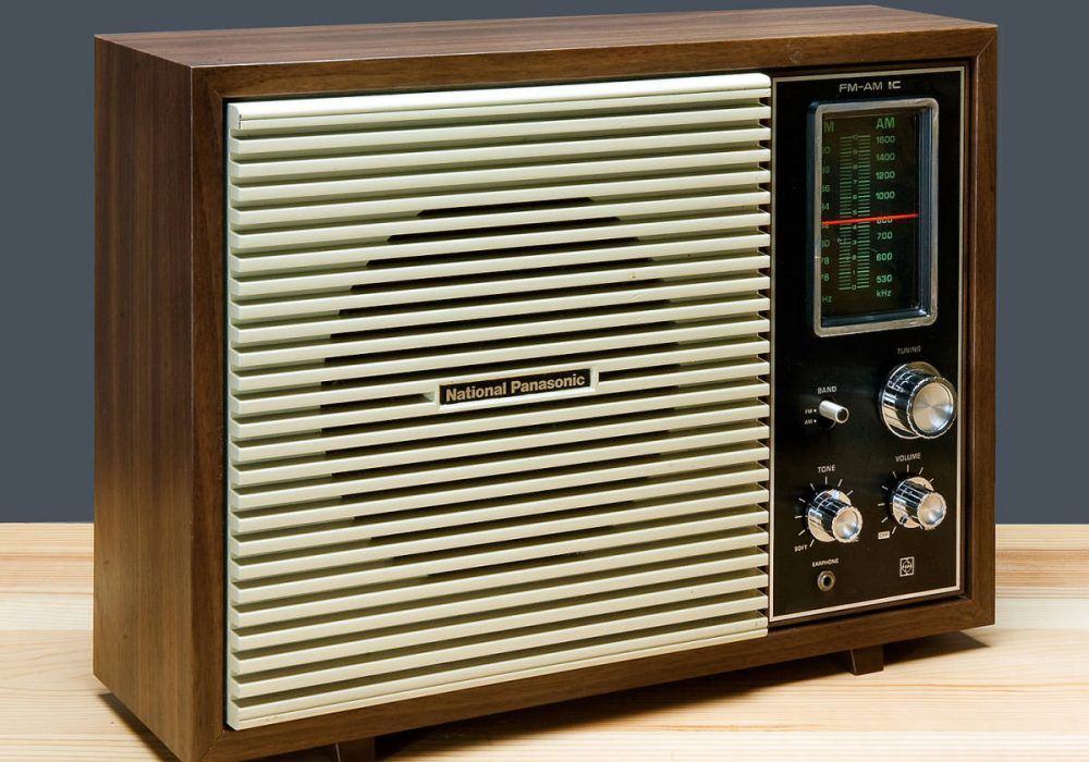 National Panasonic RE-780 FM/AM 收音机
