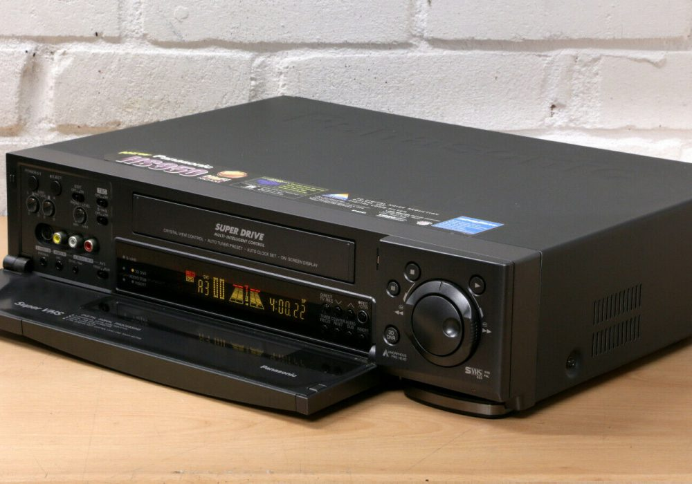 PANASONIC NV-HS950 HI-FI SUPER VHS 录像机