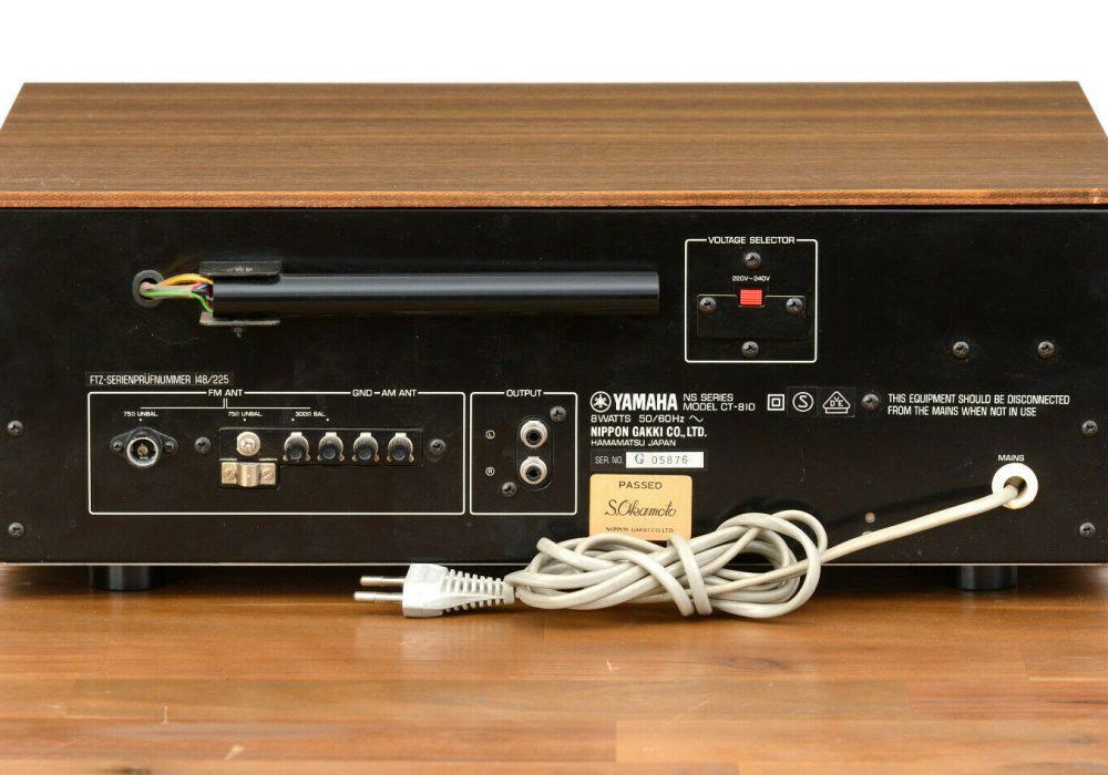 雅马哈 YAMAHA CT-810 FM/AM 收音机