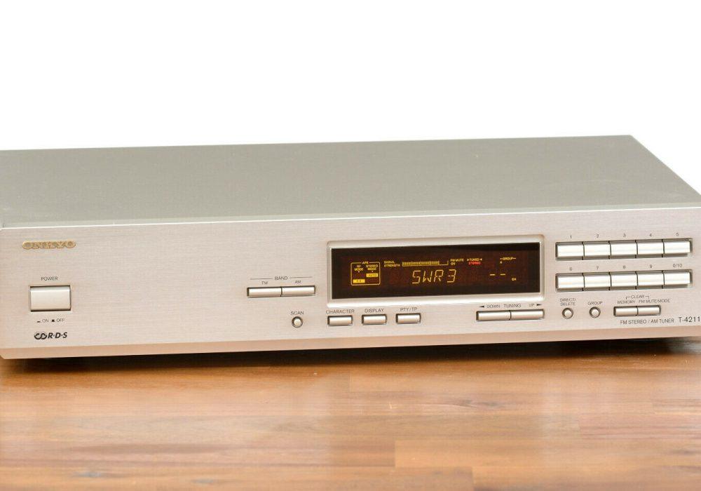 ONKYO T-4211 RDS FM/AM Tuner 收音头