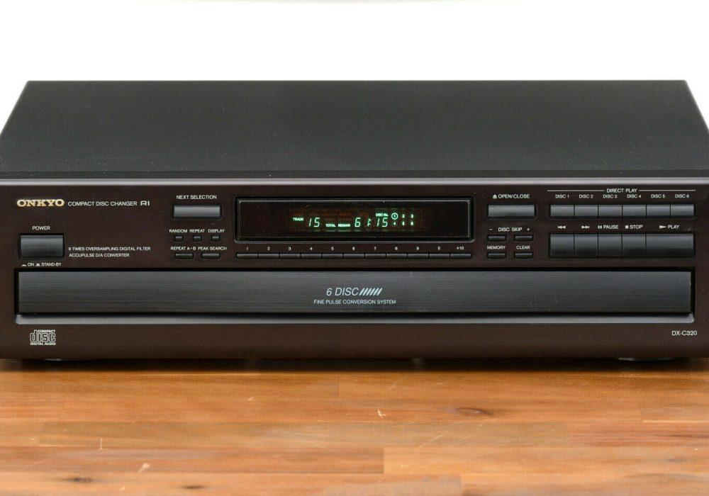 ONKYO DX-C320 CD-Player 6碟连放 CD播放机