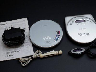 SONY D-NE730 / D-E880 Discman CD随身听