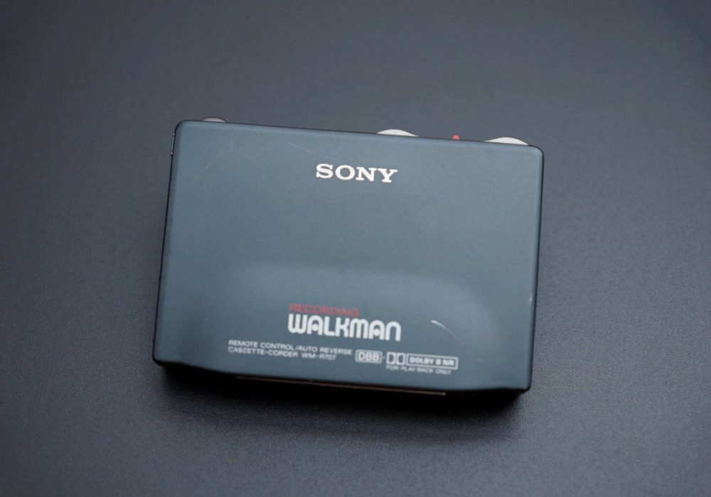 SONY WM-R707 WALKMAN 磁带随身听