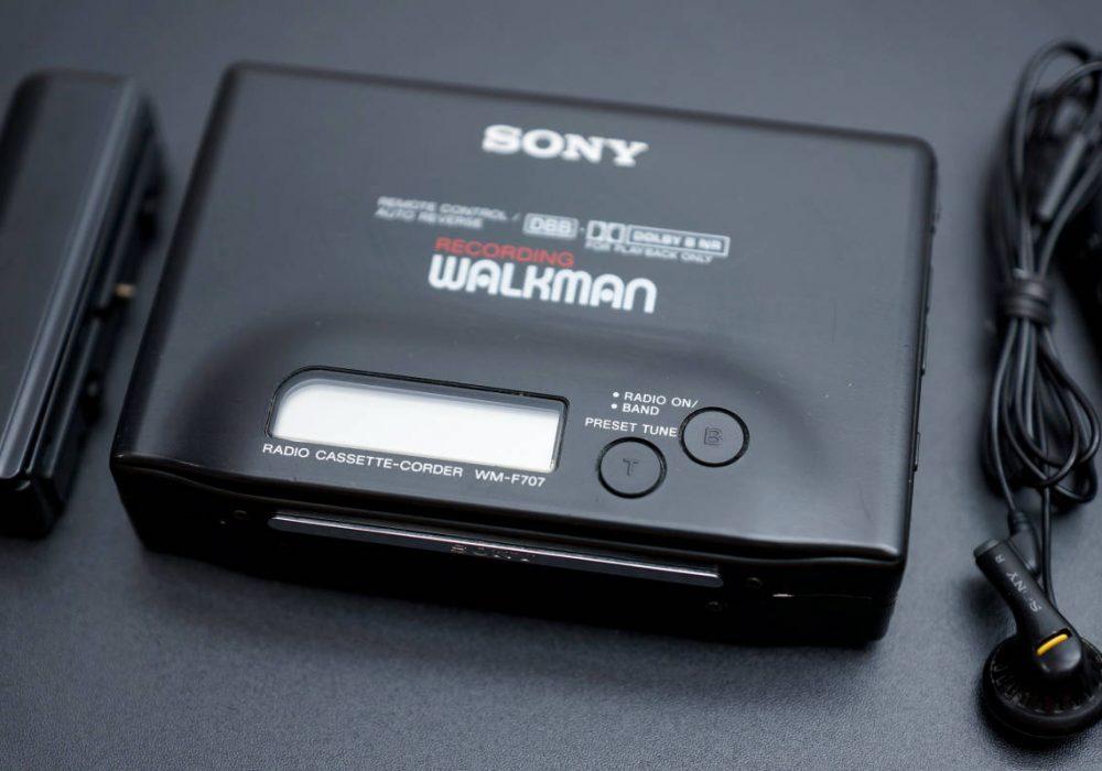 SONY WM-F707 WALKMAN 磁带随身听