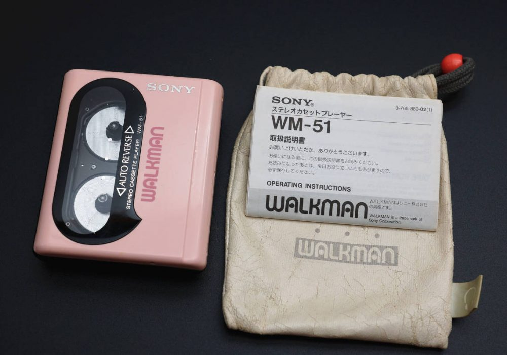 SONY WM-51 WALKMAN 磁带随身听