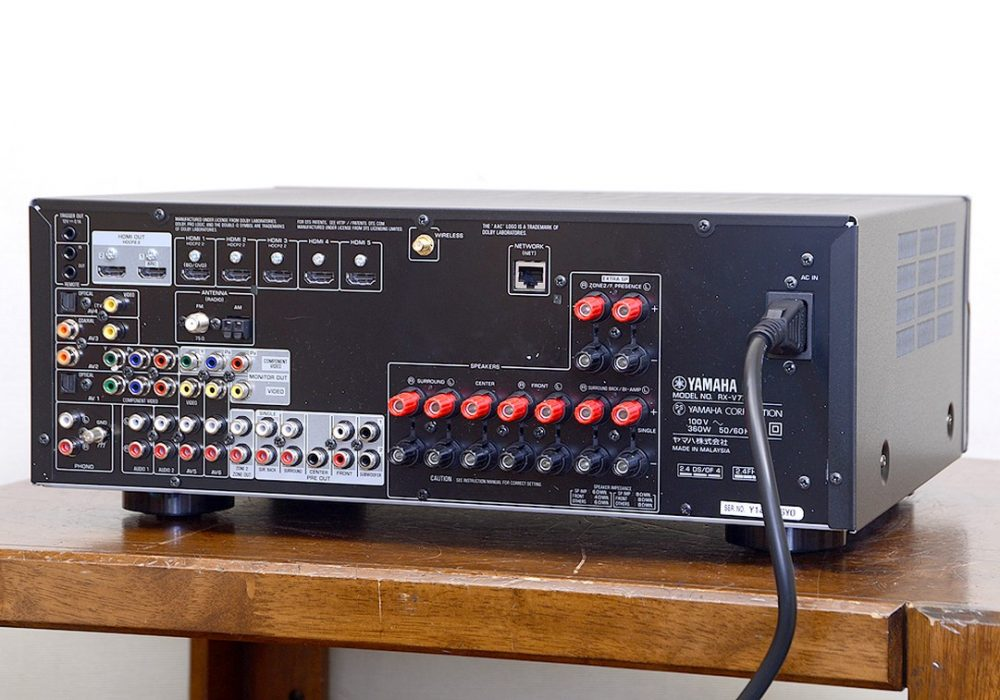 YAMAHA RX-V779 AV 功率放大器