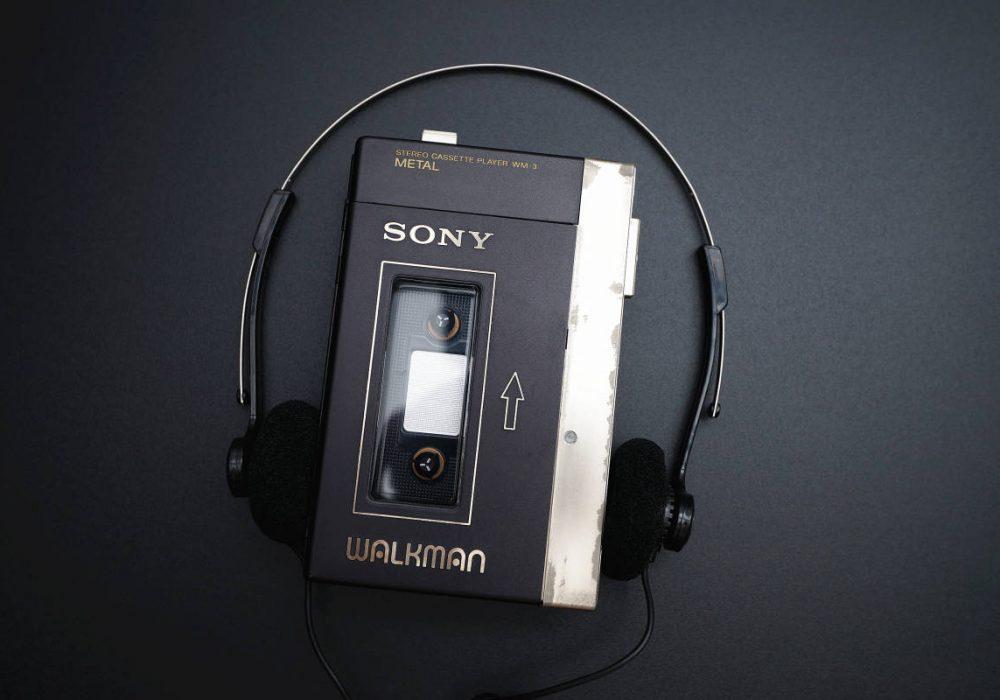 SONY WALKMAN WM-3 磁带随身听