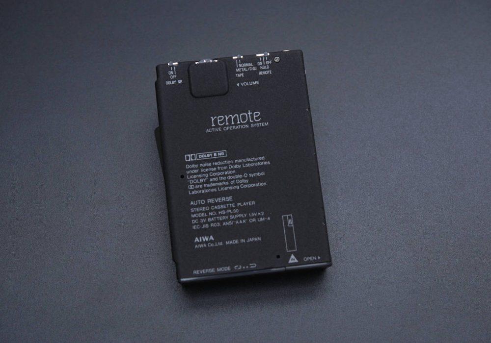 AIWA Cassette Boy HS-PL30 BLACK 磁带随身听