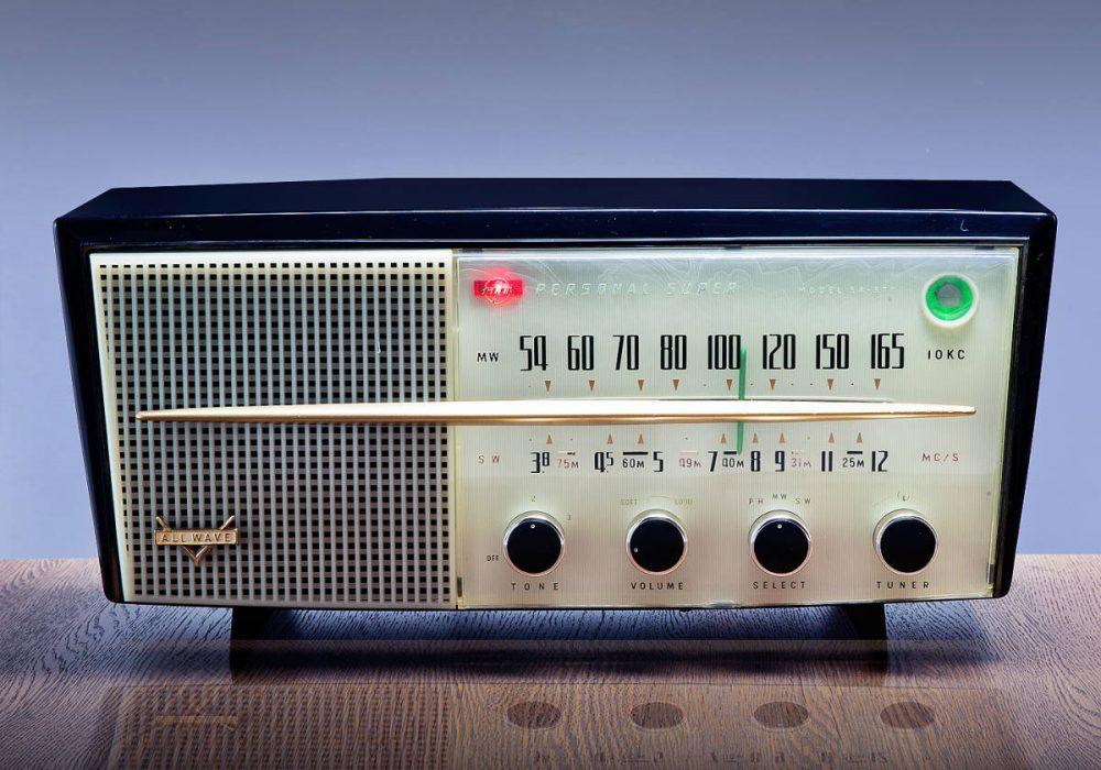 ALL-WAVE SA-370 AM/SW 电子管收音机