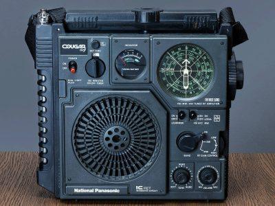 National Panasonic RF-877 FM/SW/MW 收音机