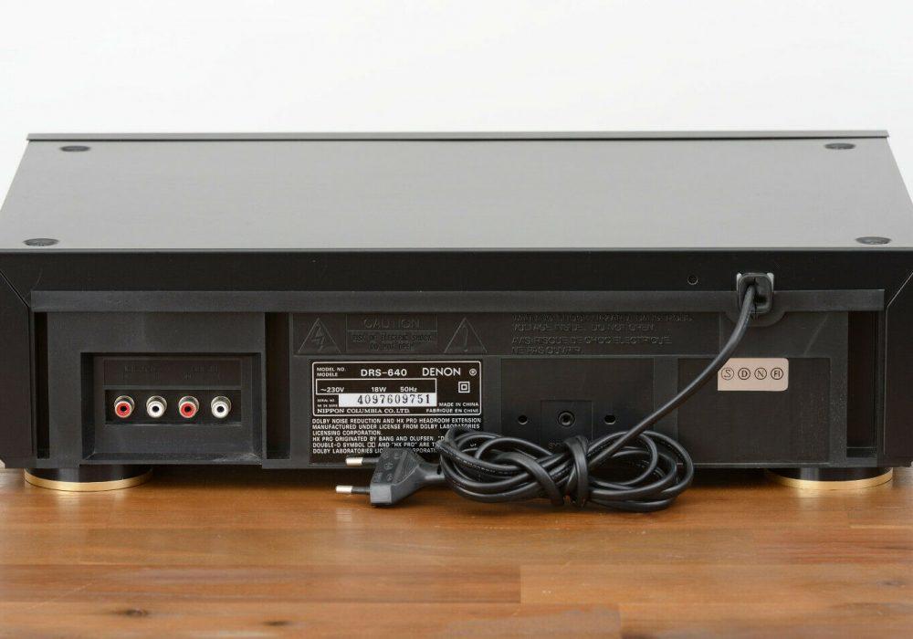 天龙 DENON DRS-640 卡座