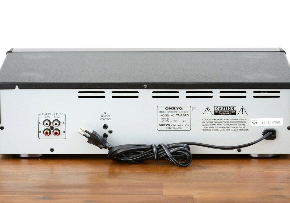 ONKYO TA-2820 卡座