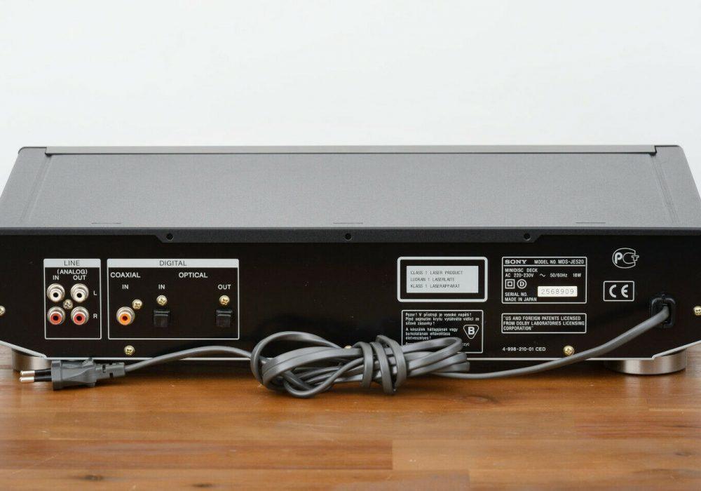 索尼 SONY MDS-JE520 MD台机