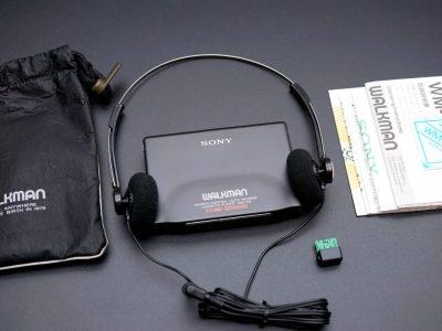 SONY ソニー WALKMAN ポータブルカセットプレーヤー WM-702 BLACK