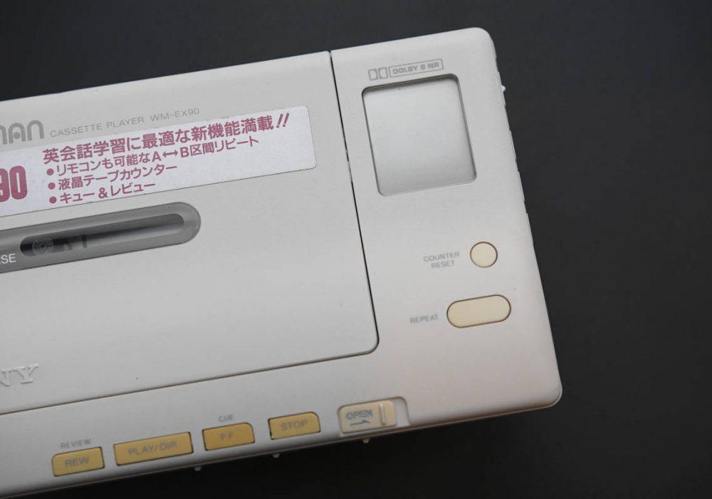 SONY WM-EX90 WALKMAN 磁带随身听