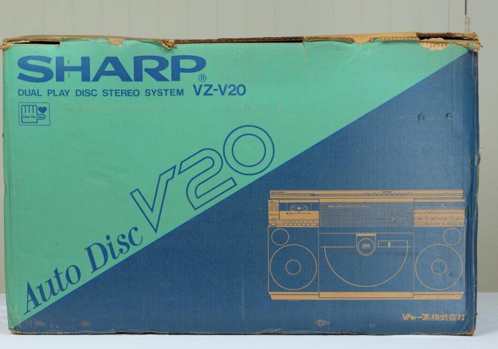 SHARP VZ-V20 磁带/收音/黑胶 一体机