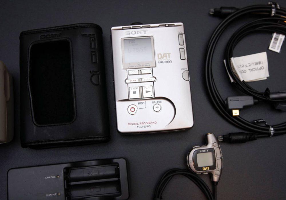 SONY TCD-D100 DAT WALKMAN DAT随身听