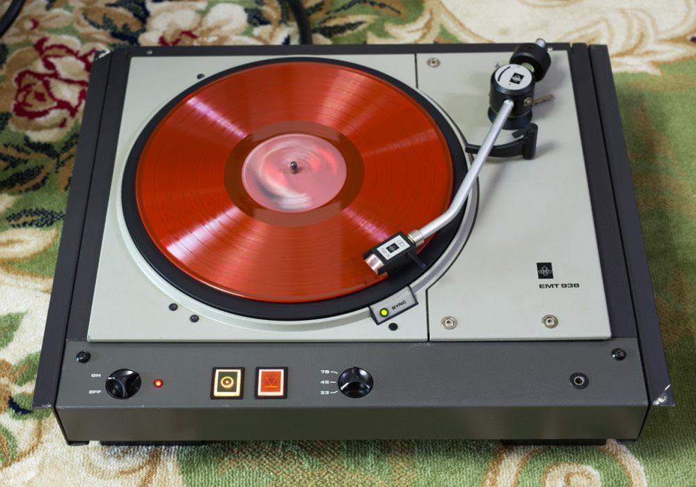 EMT 938 专业电台版 黑胶唱机