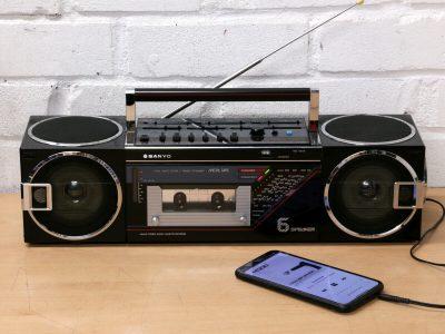 SANYO M7740K 六喇叭 单卡收录机