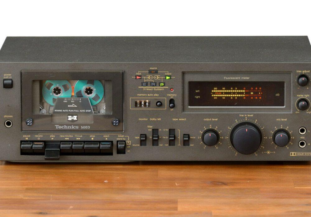 Technics RS-M63 卡座
