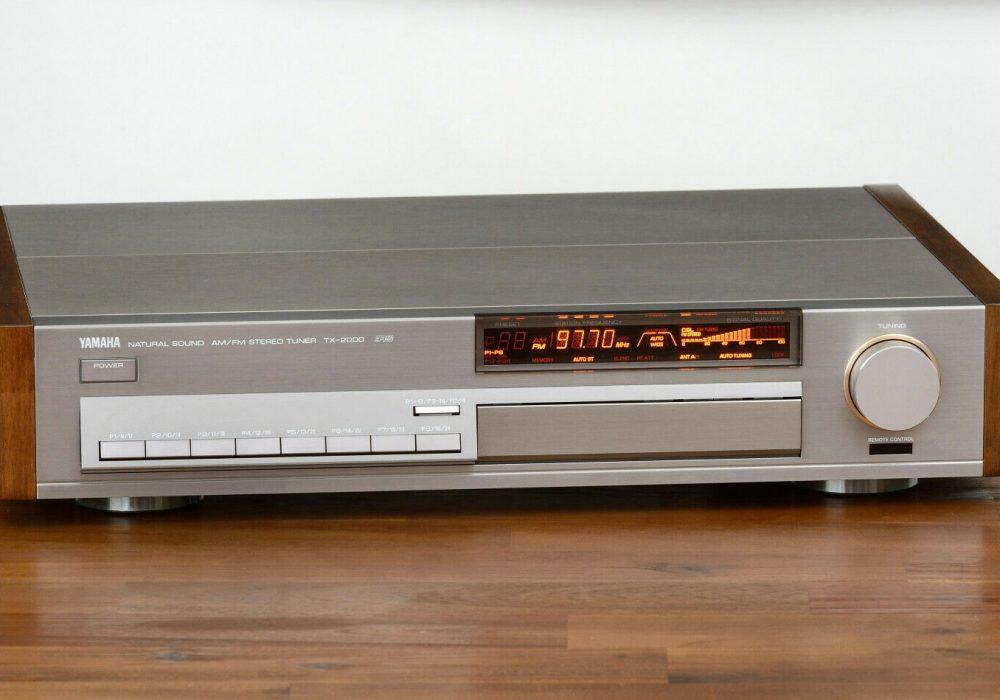 雅马哈 YAMAHA TX-2000 High-End FM/AM Tuner 收音头
