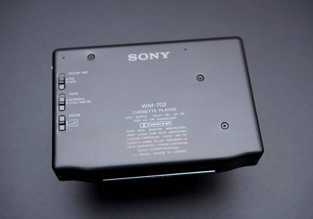 SONY WM-702 WALKMAN 磁带随身听