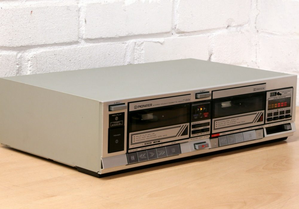 PIONEER CT-1060W 双卡卡座
