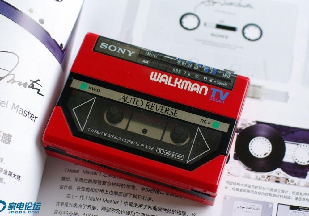 索尼 SONY WM-F55 Walkman 磁带随身听
