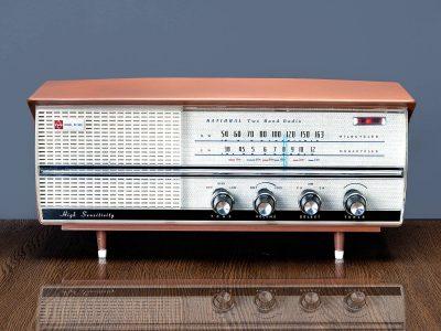National MODEL BX-300 2BAND MW/SW 电子管收音机