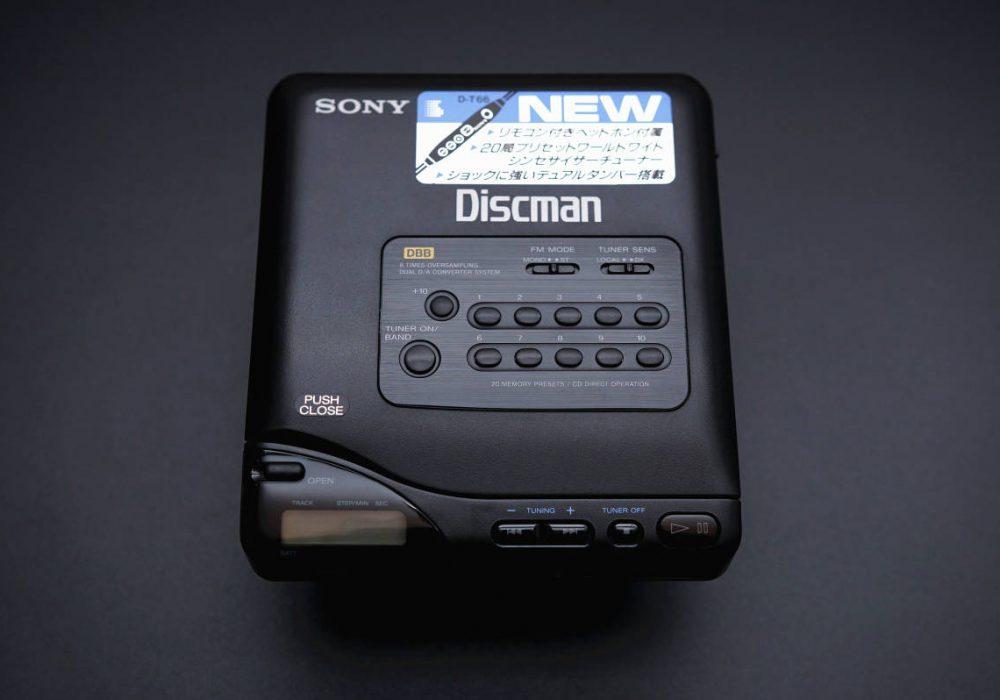 SONY D-T66 Discman CD随身听