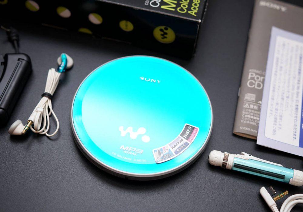 SONY D-NE730 CD随身听