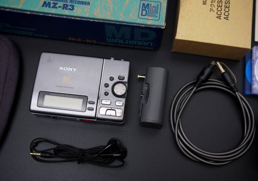 SONY MZ-R3 MD WALKMAN MD随身听