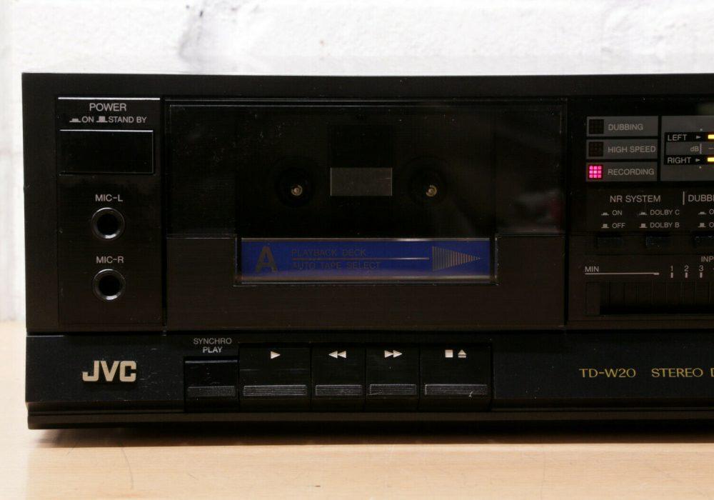 JVC TD-W20 双卡座