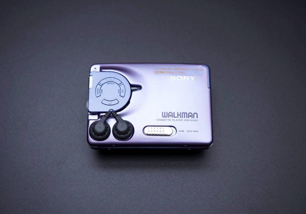 SONY WM-EX911 WALKMAN 磁带随身听