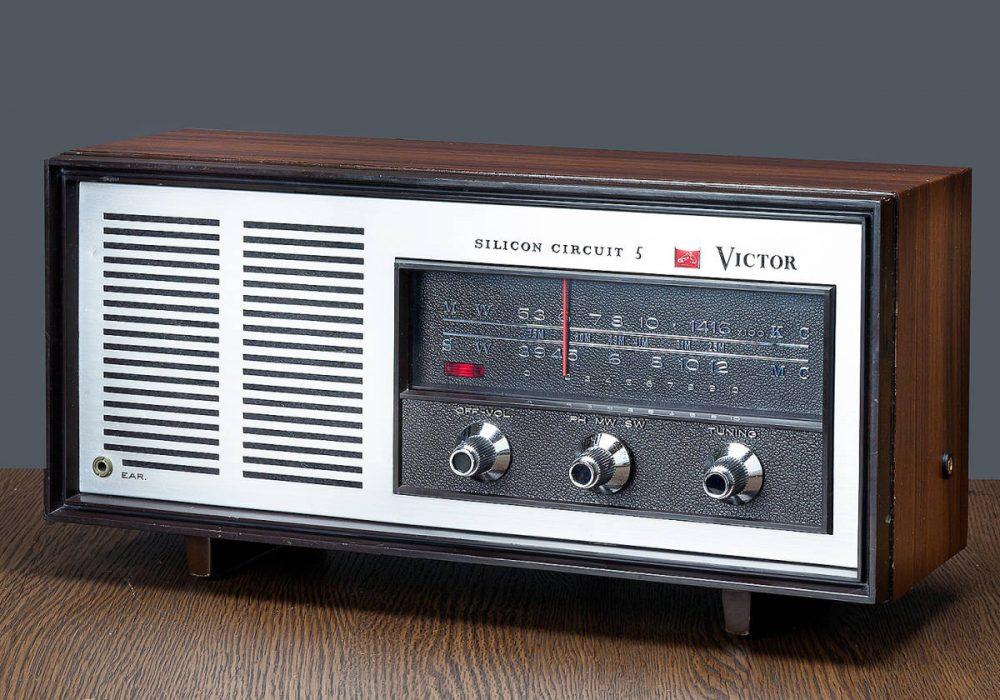 VICTOR MODEL 5H-258 2BAND MW/SW 收音机