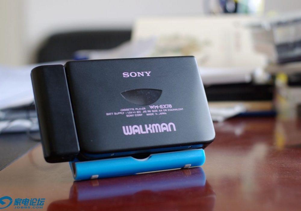 索尼 SONY WM-EX78 磁带随身听