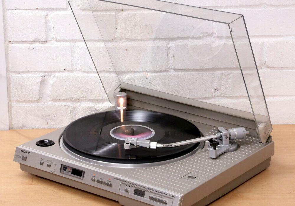 索尼 SONY PS-636 黑胶唱机