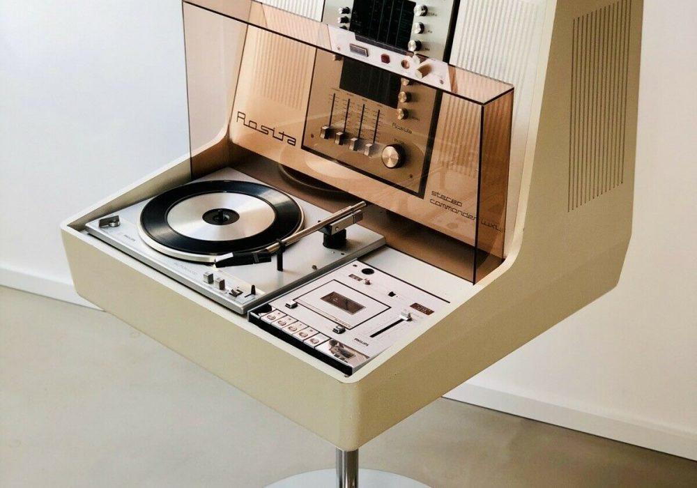Rosita commander Luxus 飞利浦黑胶唱片机卡座收音机 HiFi 系统